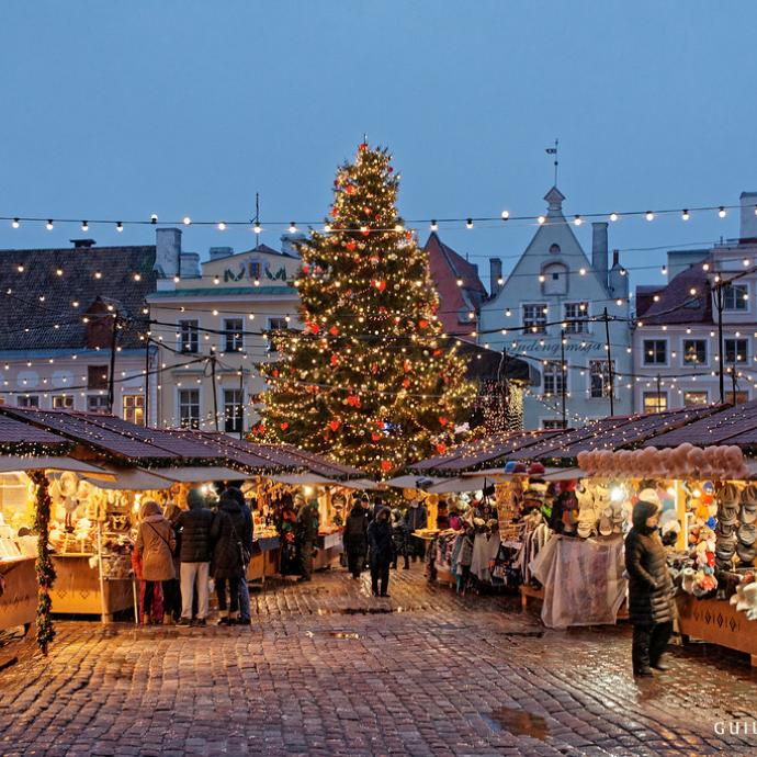 Christmas market of the Tuileries 2019