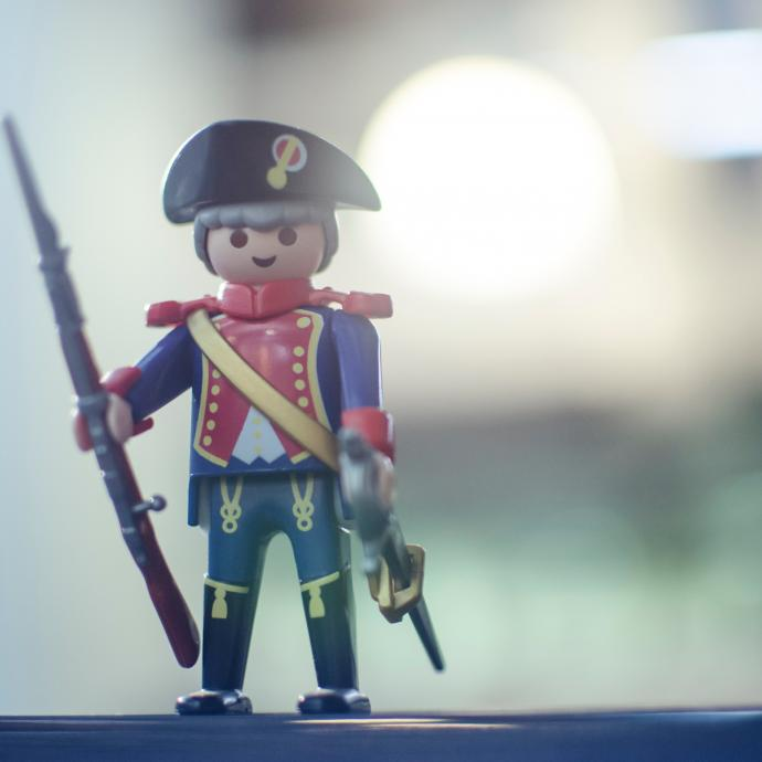 Playmobil at the Invalides: History... Forward, March!