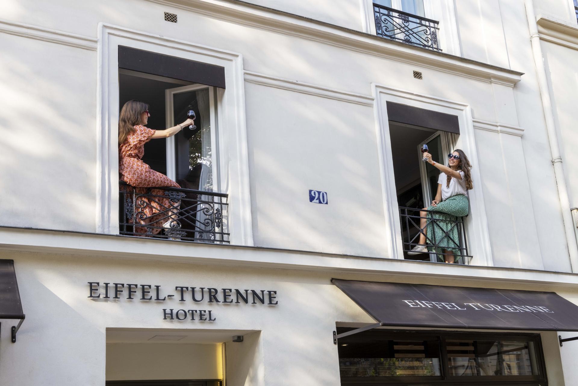 Hotel Eiffel Turenne - Façade